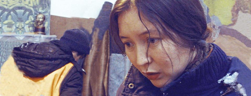 Кадр из фильма «Айка», выпускника ВКСР — Сергея Дворцевого